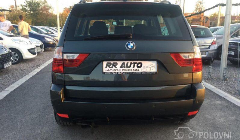 BMW X3 2.0D T O P full